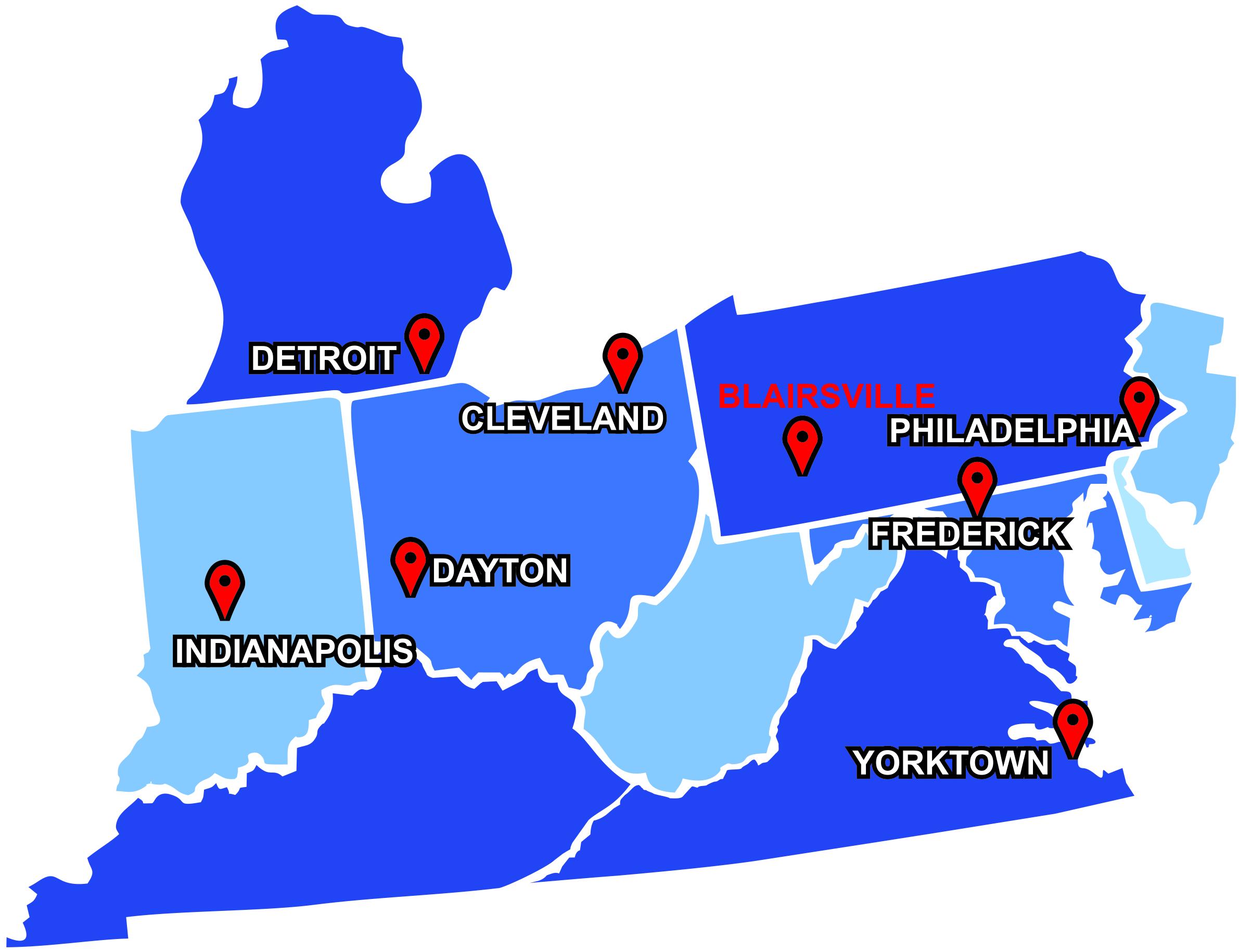 MI map with Yorktown-3-3-16